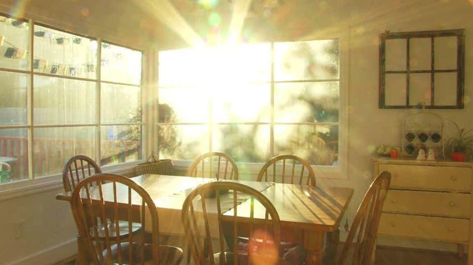 السماح للهواء والشمس بالدخول