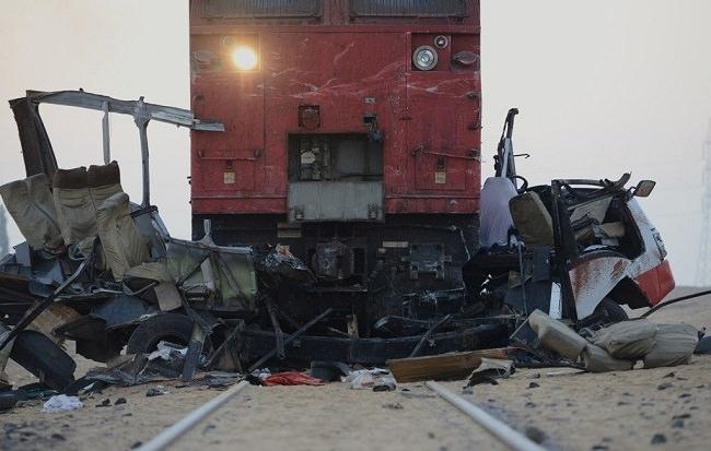 حادث قطار منفلوط سنة 2012 - عدد الوفيات 53 شخص