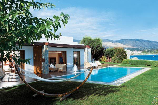 الفيلا الملكية في منتجع (Grand Resort Lagonissi) أثينا - اليونان