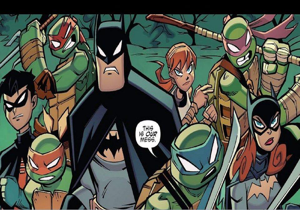 Batman vs Teenage Mutant Ninja Turtles تاريخ الإصدار الأولي: 31 مارس 2019