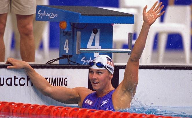 جيني تومبسون - 12 ميدالية