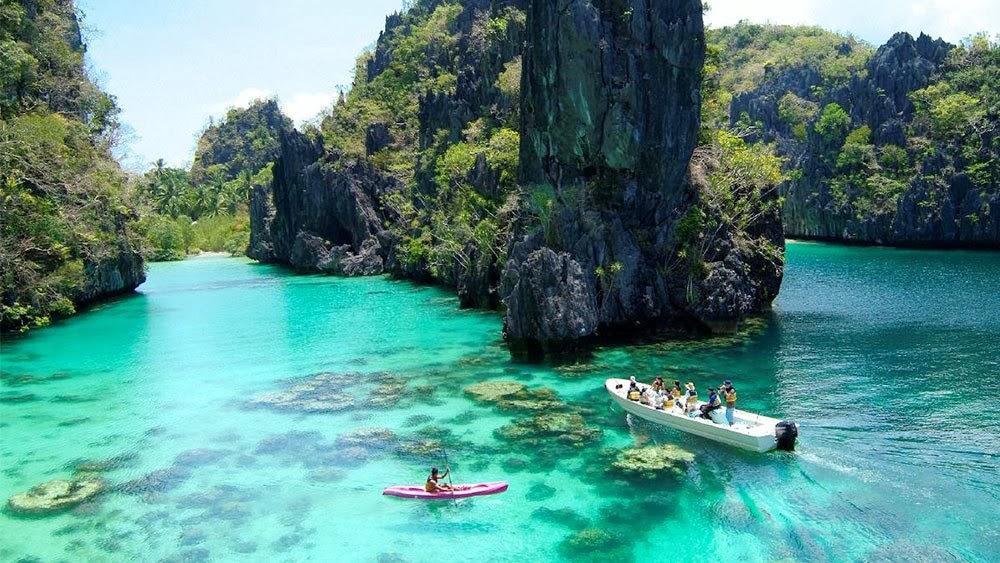 جزر بالاوان في الفلبين