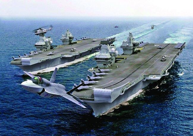 حاملات الطائرات من طراز الملكة إليزابيث - المملكة المتحدة