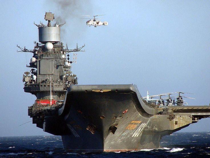 حاملة طائرات الأميرال كوزنستوف - روسيا