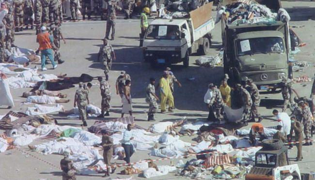 سنة 2004 - وفاة 251 حاج في حادث تدافع