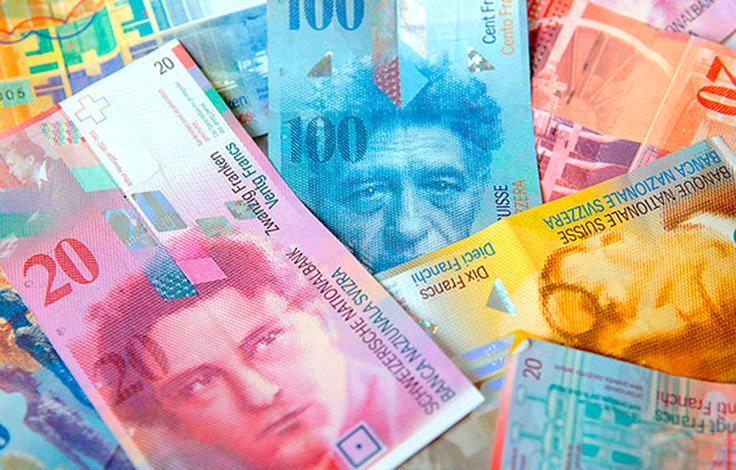 الفرنك السويسري - يعادل 1.02 دولار
