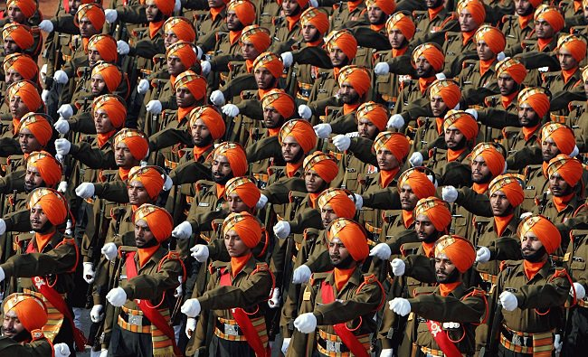 الهند - ثالث اكبر جيش في العالم