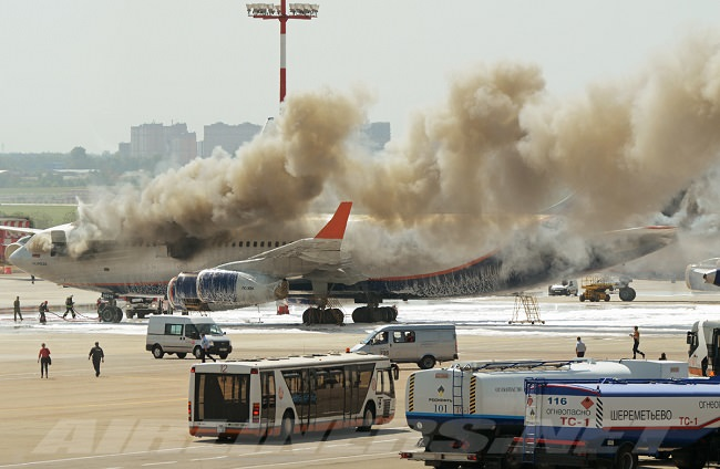 إيروفلوت وأسوأ الكوارث الجوية - عدد الوفيات 5،255 شخص