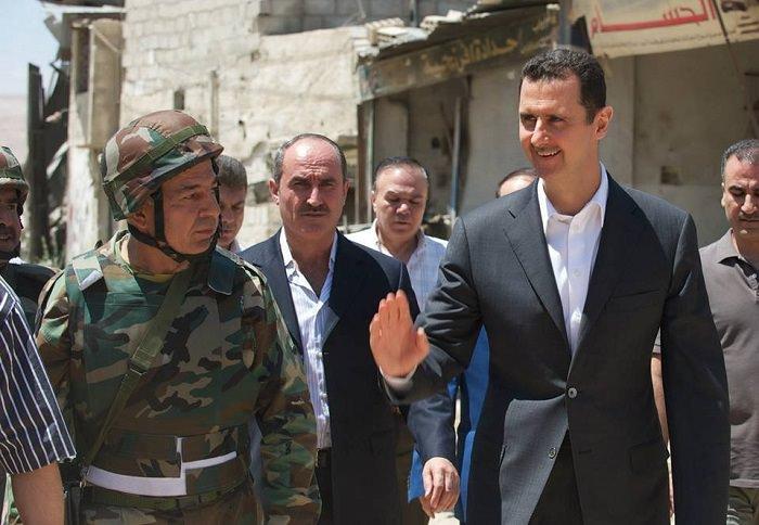 توفير الدعم بالمال والعتاد والتدريب لبشار الأسد بمليارات الدولارات