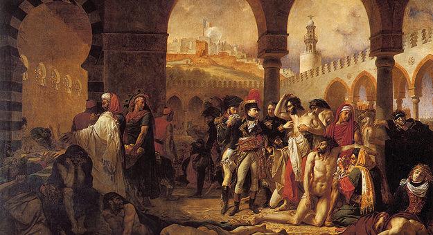 طاعون سنة 1348 م - عدد الوفيات 900 ألف