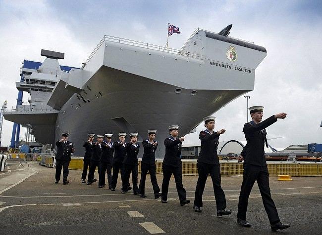 القوات البحرية الملكية البريطانية