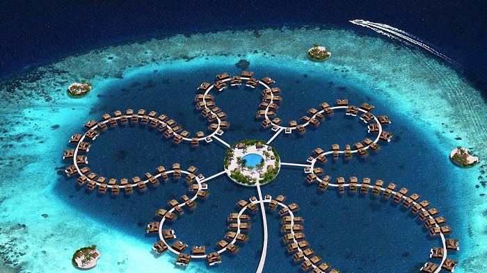 The Ocean Flower - المالديف