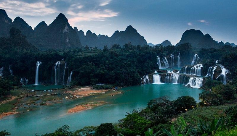 شلالات ديتيان - Detian Falls