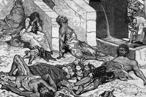 الشدة المستنصرية في سنوات 1065-1071 م