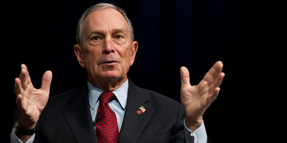 مايكل بلومبيرج Michael Bloomberg