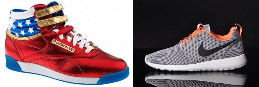 Reebok مقابل Nike