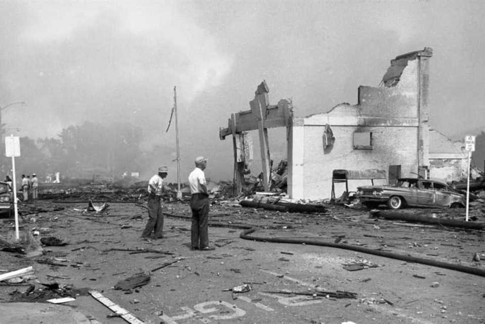 انفجار مورجان ديبوت 1918: