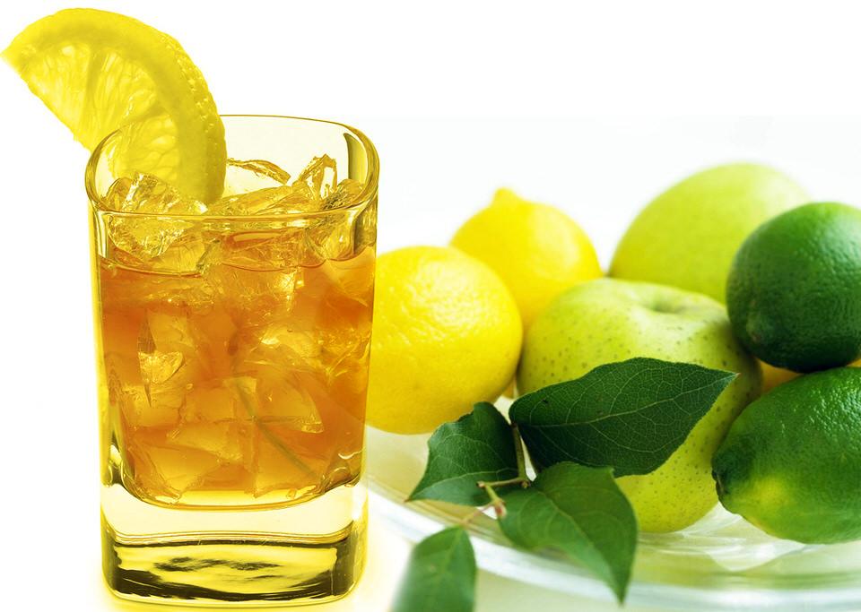 شاي اوراق الليمون