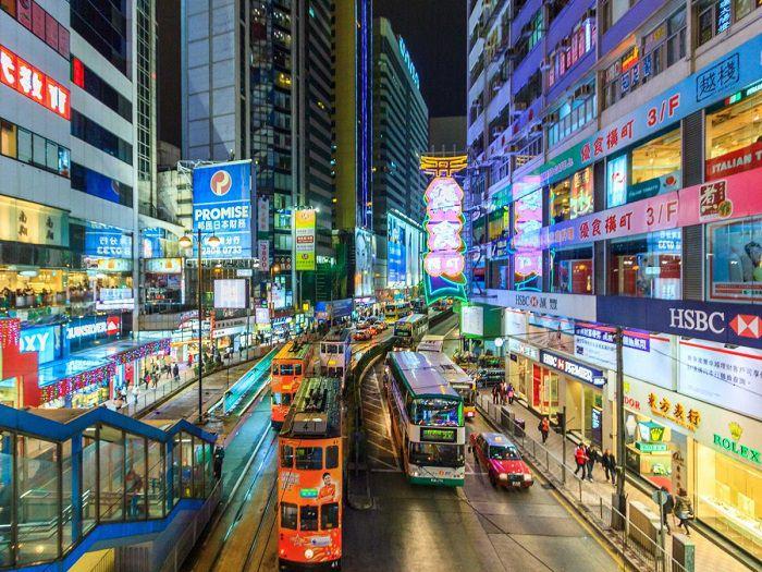 هونغ كونغ، الصين - 8.66 مليون سائح
