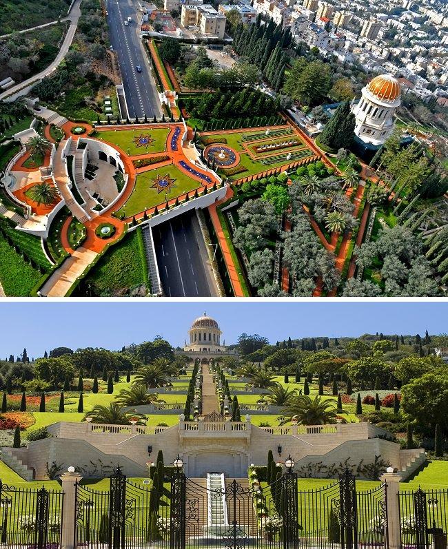الحدائق البهائية - حيفا، فلسطين