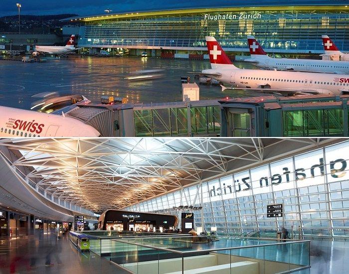 مطار زيوريخ في ألمانيا