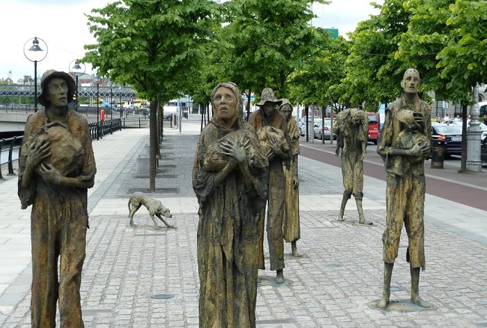 مجاعة البطاطس في إيرلندا بين عامي 1845 و 1848 - مليون شخص