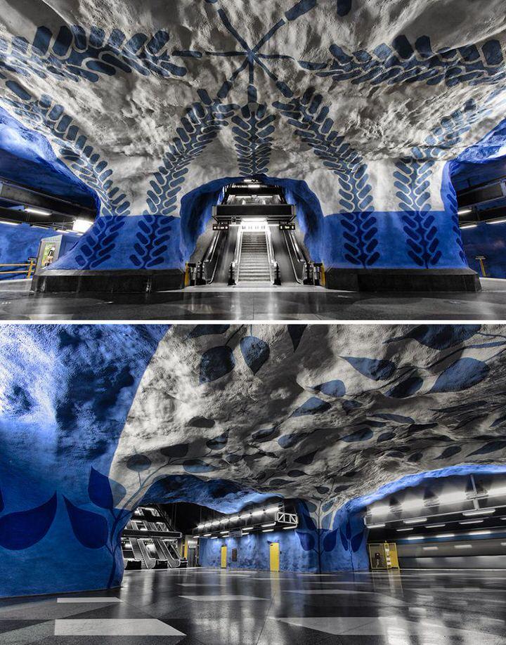 محطة القطارات المركزية تي 13 | ستوكهولم | السويد