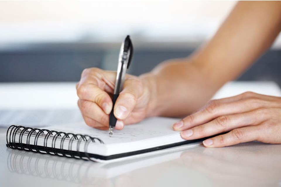 اللجوء الى الكتابة