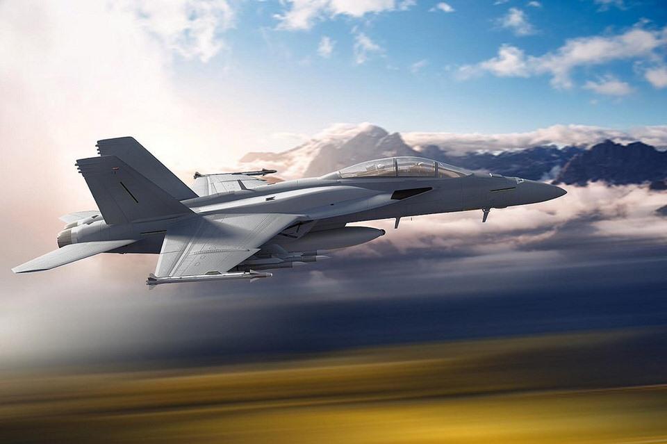 طائرة بوينغ إف/أيه-18 إي/إف سوبر هورنت