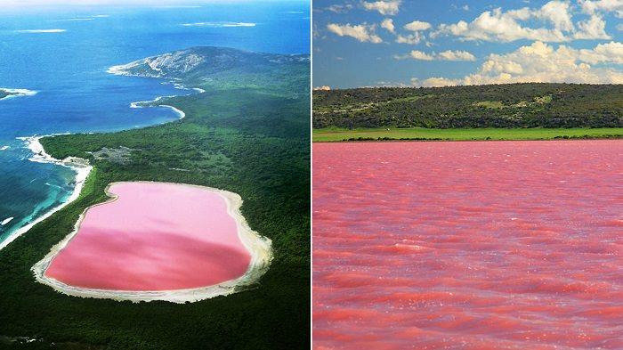بحيرة هيليير - أستراليا