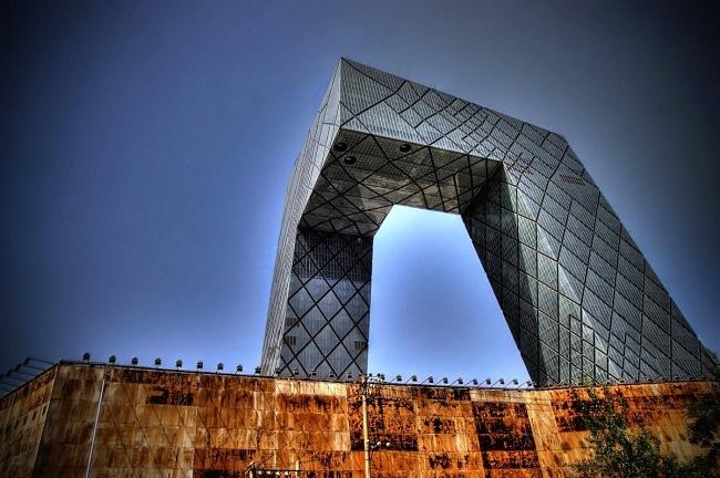 مبنى سي سي تي في - بكين، الصين
