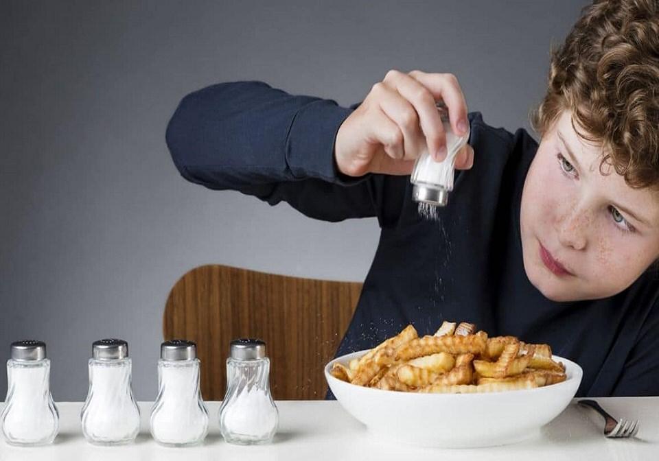 تقليل كميات الملح