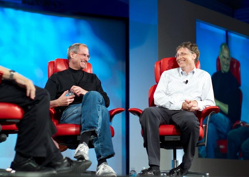 Bill Gates مقابل Steve Jobs