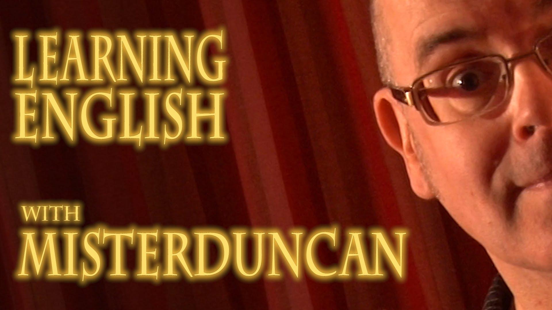 قناة Mr.Duncane لاكتساب اللغة الإنجليزية