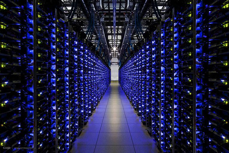 مراكز البيانات الخاصة بجوجل