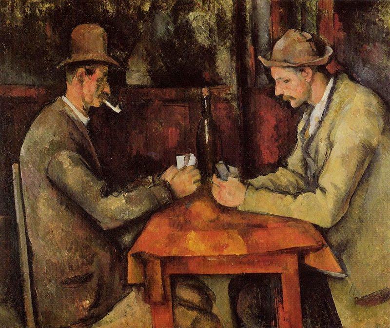 لوحات The Card Players - ثمنها 259 مليون دولار