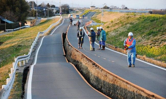 الزلزال المزدوج في اليابان، سنة 2017