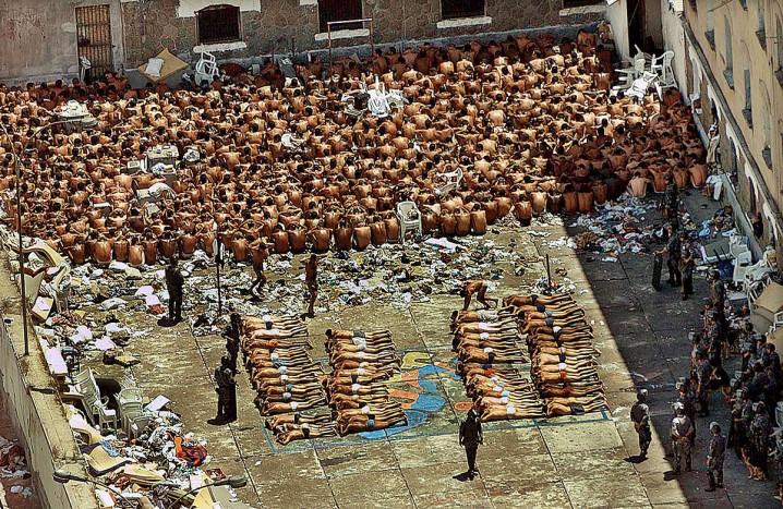 سجن كارانديرو الإصلاحي - البرازيل