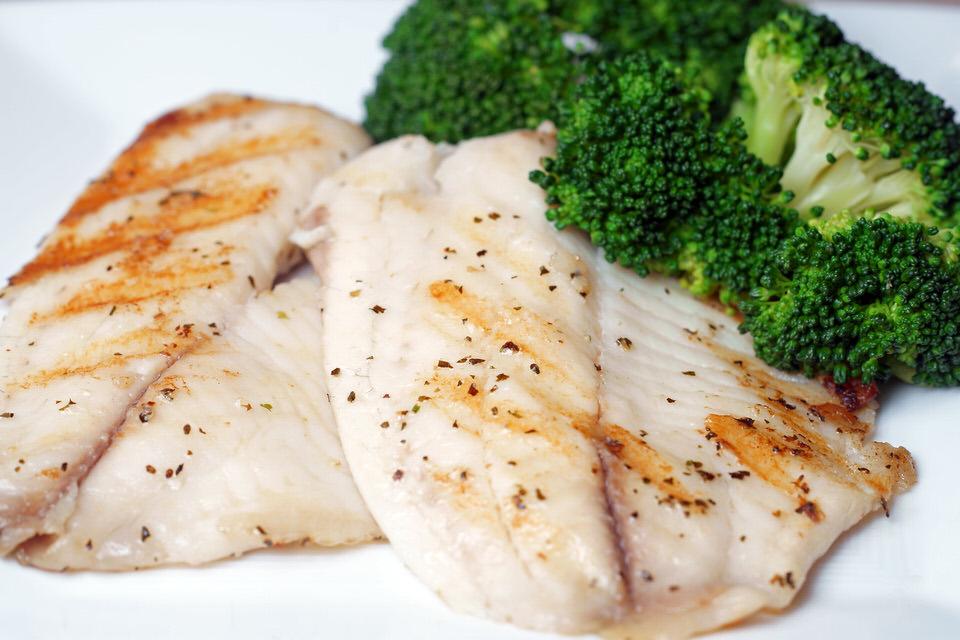 سمك الحدوق - نسبة البروتينات 20%