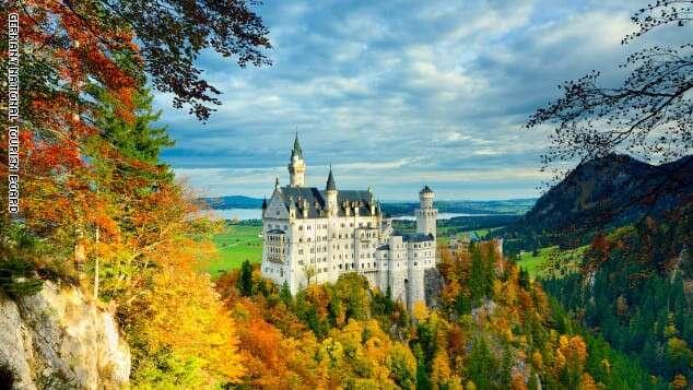 قصر Neuschwanstein - (ألمانيا)