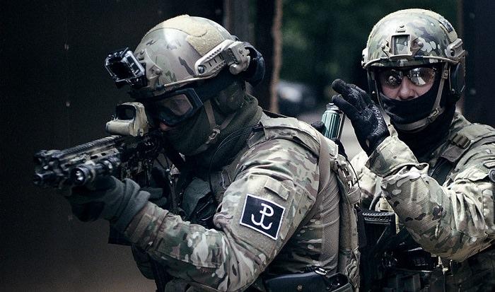 قوات جيدنوستكا ووجسكوا جروم «JW GROM» - بولندا