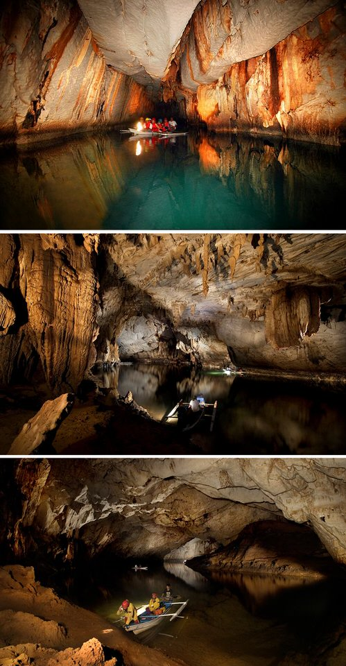 نهر «بويرتو برينسيسا» الجوفي ـ Puerto Princesa Subterranean River