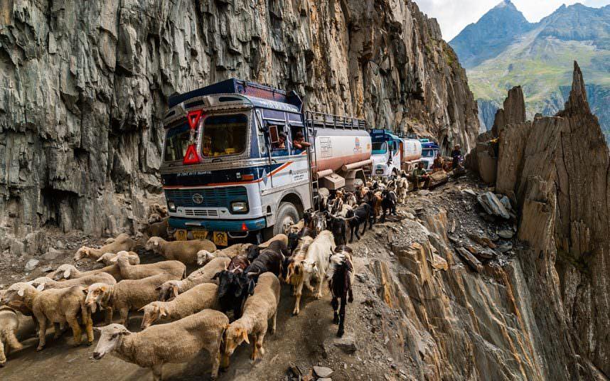 ممر «زوجيلا» في الهند