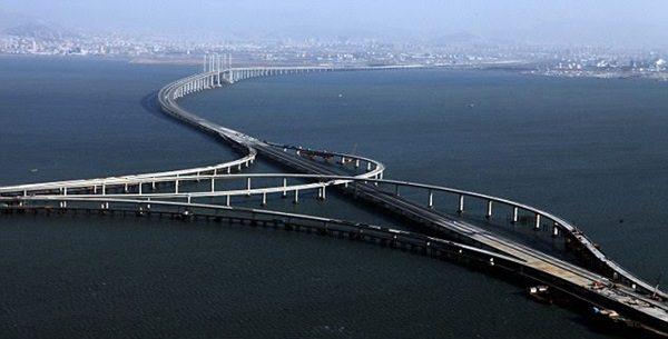 جسر خليج «تسينداوسكي» في الصين - 6 مليار دولار
