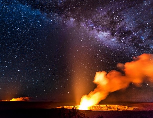 بركان هاواي للمصورة Nina McIntosh