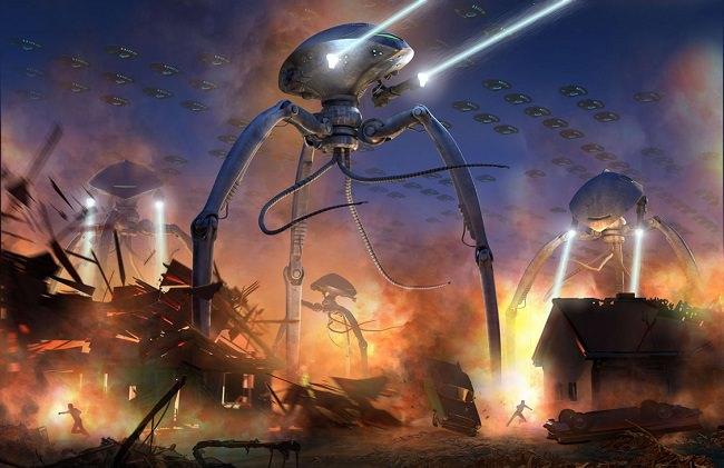 نهاية العالم على يد كائنات فضائية