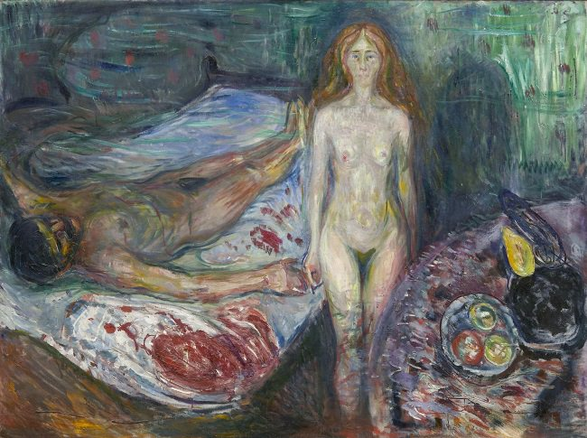 موت مارا - إدفارد مونك