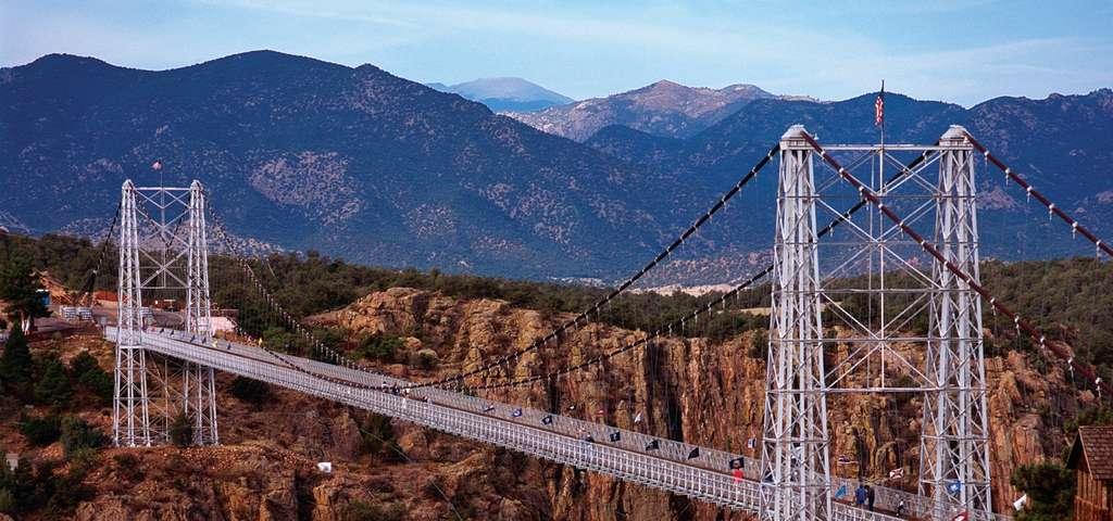 جسر رويال جورج، مدينة كانون، كولورادو