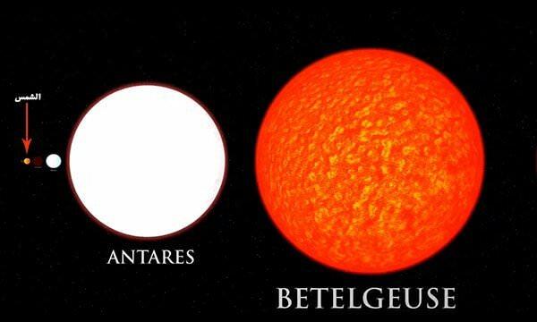 منكب الجوزاء او Betelgeuse