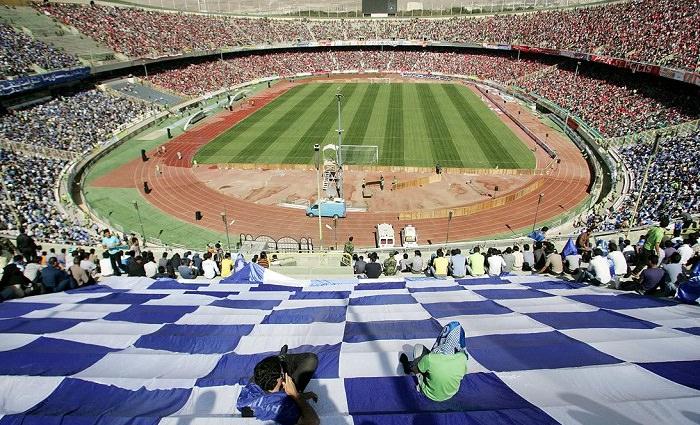 ملعب أزادي، طهران - 90 ألف متفرج